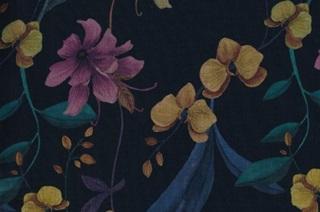Afbeelding van Night Orchid voile