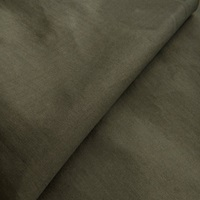 Burnt Olive poplin (36/1) (SALE)-2