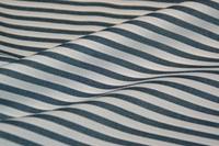 Ink Blue Stripe poplin