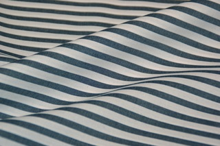 Picture of Ink Blue Stripe poplin