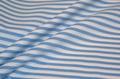 Marina Blue Stripe poplin