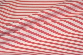 Afbeelding van Bittersweet Red Stripe poplin