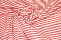Bittersweet Red Stripe poplin-2