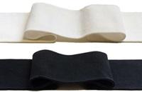 Losse boord 1x1 (met elastan) (SALE)