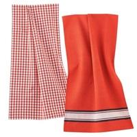 Delhi Red Clay tea towel set-2