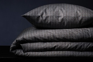 Picture of Mann Anthracite duvet cover