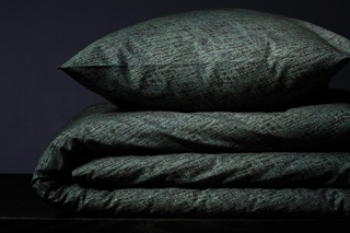 Picture of Bloke Deep Green duvet cover