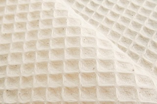 Picture of Natural waffle fabric