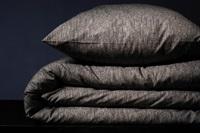 Hombre Stone Grey duvet cover