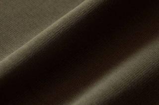 Afbeelding van Burnt Olive boordstof 1x1 (met elastan)