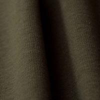 Burnt Olive boordstof 1x1 (met elastan) -2
