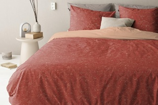 Picture of Swift Burned Red duvet cover