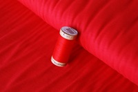 Red stretch jersey-2