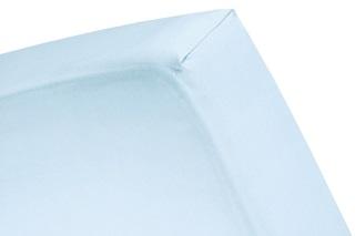 Afbeelding van Blue Sky topper hoeslaken (dun matras) satijn