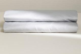 Afbeelding van Light Grey laken satijn