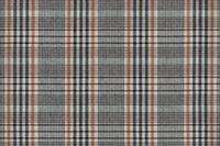 Smoke Grey-Black checked flannel