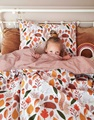 For Rest children's duvet cover percale