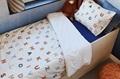 Alpha-bed kinder dekbedovertrek percal