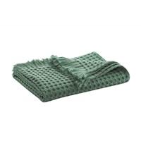Myrtle Green waffle bath textiles-2