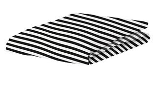 Afbeelding van Earned my Stripes hoeslaken percal