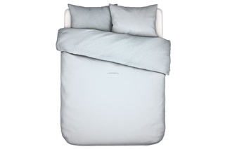 Picture of Space Invader duvet cover percale