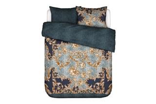 Picture of Grazie Indigo Blue duvet cover sateen