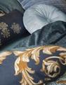 Grazie Indigo Blue dekbedovertrek satijn