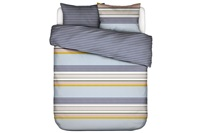 Walk the Line duvet cover percale