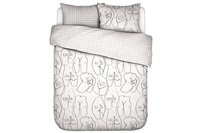 Ass If duvet cover percale