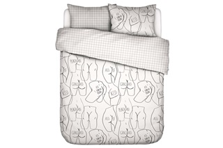 Picture of Ass If duvet cover percale
