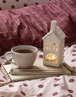 Turn over Rose duvet cover percale-2