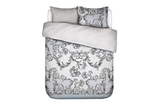 Picture of Grazie Ice Blue duvet cover sateen