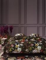 Giselle Chocolate dekbedovertrek satijn-2