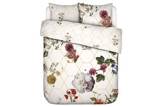 Picture of Abigail White duvet cover sateen