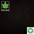 Black hemp linen