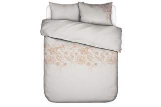 Picture of Malou Soft Grey duvet cover sateen