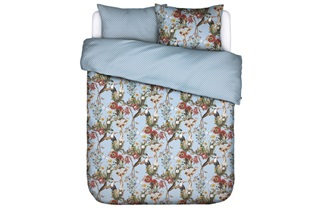 Picture of Airen Ice Blue duvet cover sateen