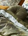 Felicia Loden Green dekbedovertrek satijn