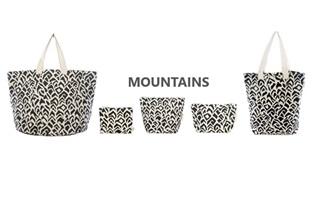 Afbeelding van Mountains - Tassenset