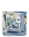 Rosalee Blue badgoed velours
