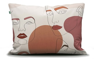 Picture of Femme Fatale pillowcase percale