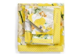 Afbeelding van Rosalee Yellow badgoed velours