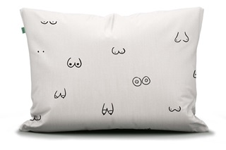 Picture of Booby Trap pillowcase percal