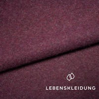 Purple marl fleece  (SALE)-2