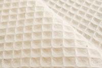 Natural waffle fabric (SALE)