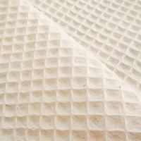 Natural waffle fabric (SALE)-2