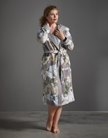 Perri Rosalee Grey velours badjas-2