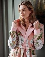 Perri Rosalee Rose velours badjas-2