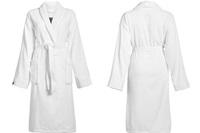 Connect Organic Uni White badjas