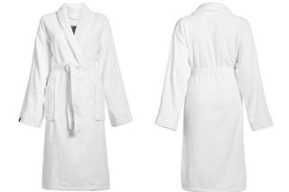 Afbeelding van Connect Organic Uni White badjas